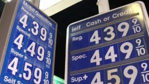 California Gas Tax Hike
